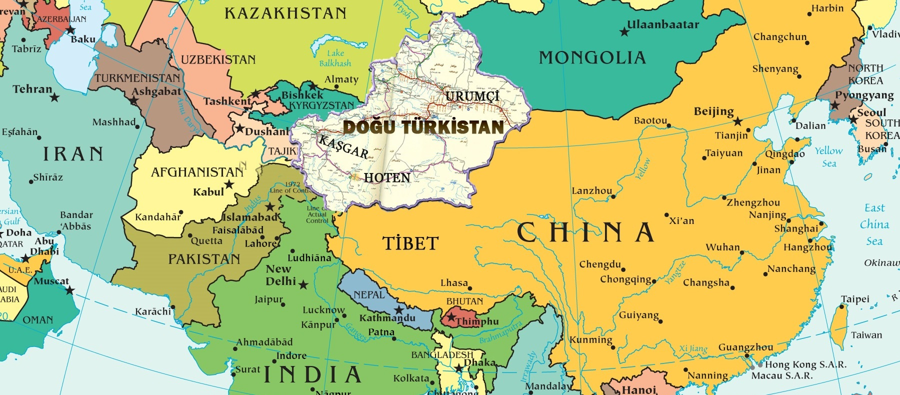 Turkistan-Asya Doğu Türkistan Coğrafyası ve önemi