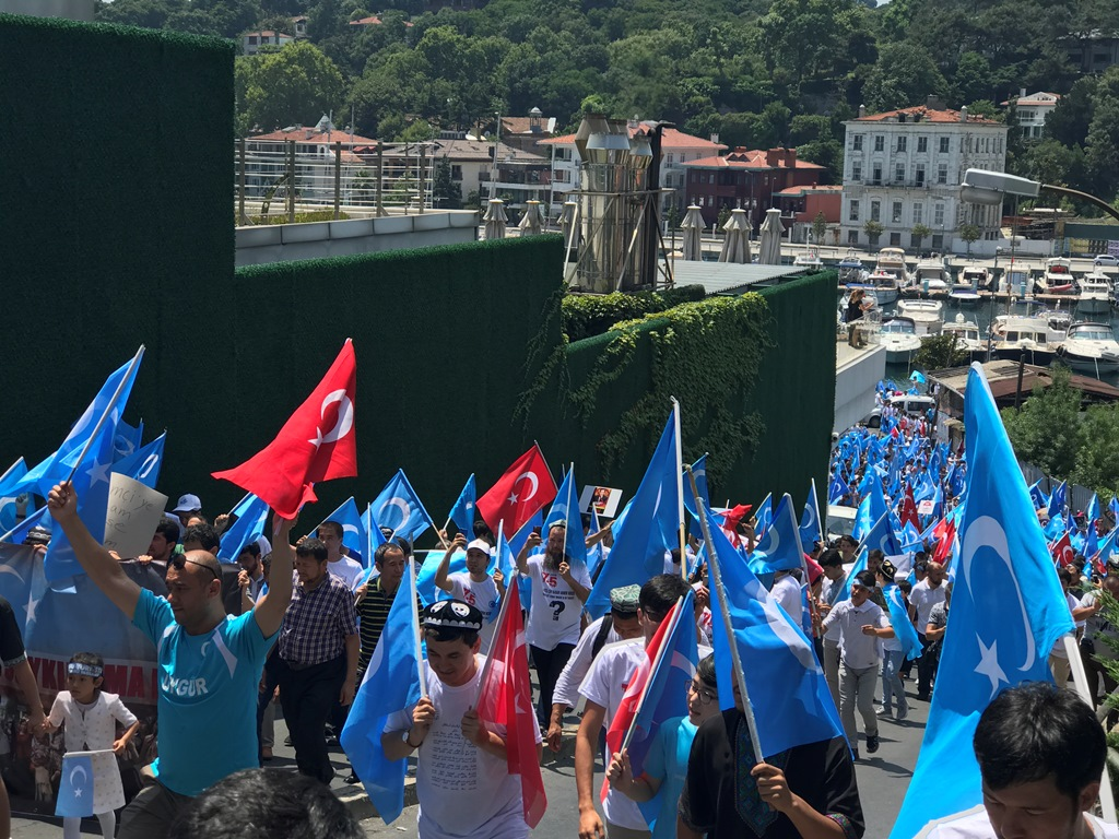 IMG_5350 9. yılında 5 Temmuz Urumçi Katliamı protesto ve basın açıklaması