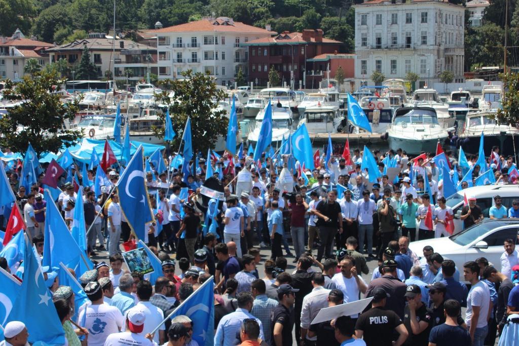 IMG_5446 9. yılında 5 Temmuz Urumçi Katliamı protesto ve basın açıklaması