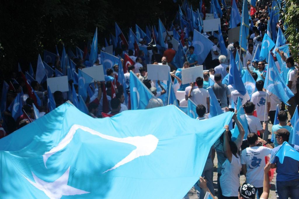 IMG_5447 9. yılında 5 Temmuz Urumçi Katliamı protesto ve basın açıklaması