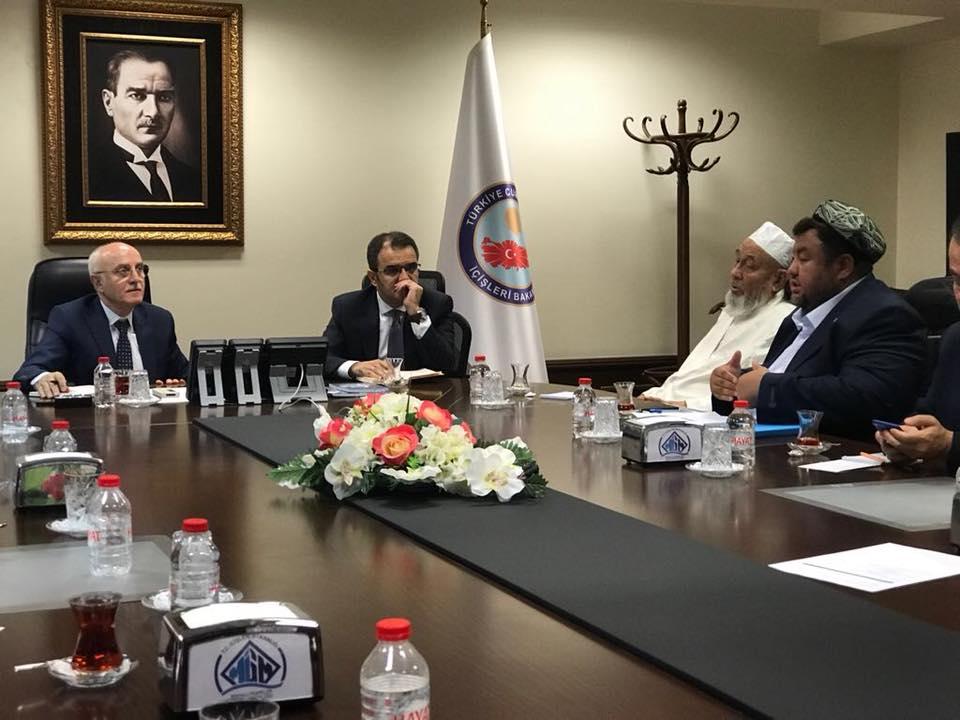 38722209_682420902125549_3108571340274139136_n Doğu Türkistan STKlar birliği heyeti İçişler bakanını ziyaret etti
