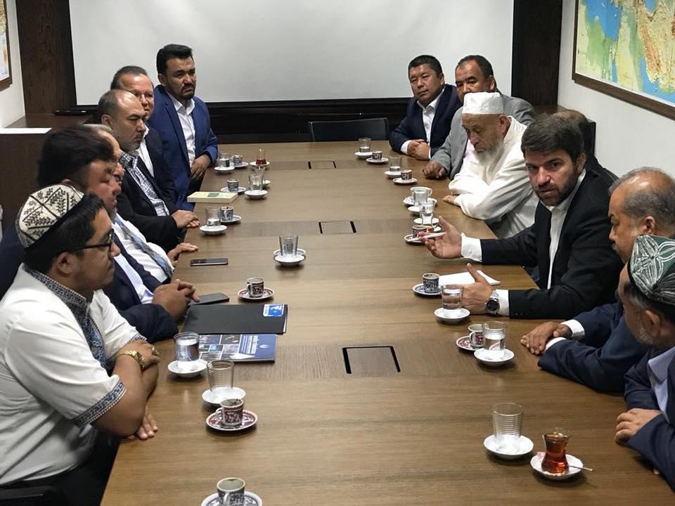 """38726854_682397472127892_7217263052788334592_n """" Doğu Türkistan Stklar Birliği """" Heyeti Ankara'da Göç İdaresi Genel Müdürlüğüne ziyarette bulundu"""