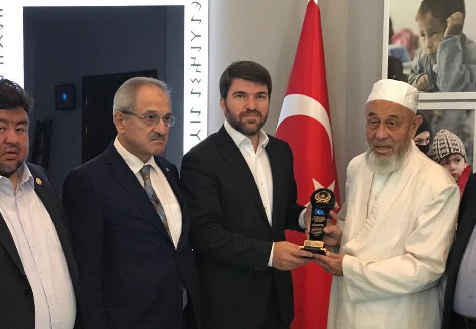 """38749823_682397362127903_9151679231569166336_n-1 """" Doğu Türkistan Stklar Birliği """" Heyeti Ankara'da Göç İdaresi Genel Müdürlüğüne ziyarette bulundu"""