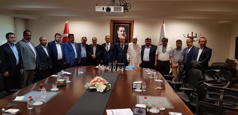 38758303_682420852125554_5023593890582626304_n Doğu Türkistan STKlar birliği heyeti İçişler bakanını ziyaret etti