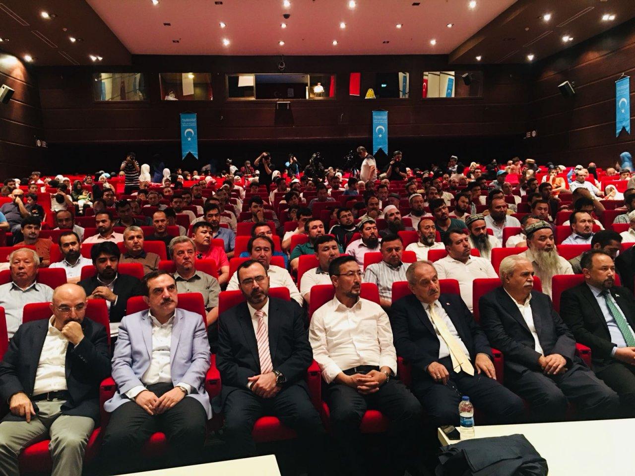 opt-ab91d363-1d5c-466f-a58c-5aa357359fc5-KQ8A4I4OIAYQM6ARLOGC 10. Dünya Doğu Türkistanlılar Kardeşlik Buluşması gerçekleşti