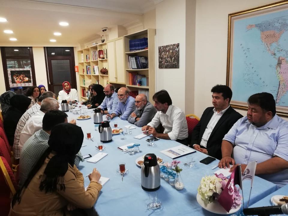 42311841_715083408859298_1315521944161878016_n Genel Başkanımız Hidayet Oğuzhan İstişare toplantıda Doğu Türkistan meselesini anlattı