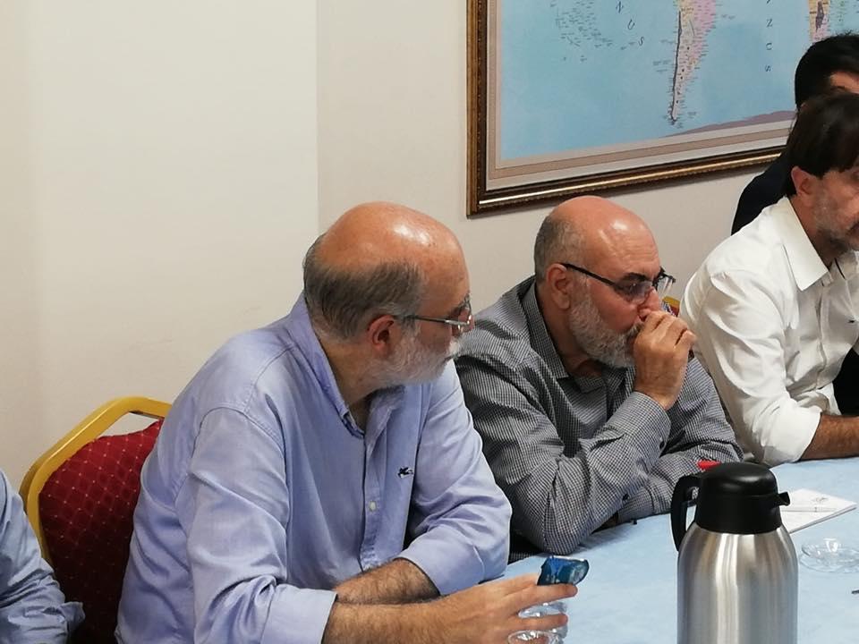 42317113_715083425525963_4527932300729516032_n Genel Başkanımız Hidayet Oğuzhan İstişare toplantıda Doğu Türkistan meselesini anlattı