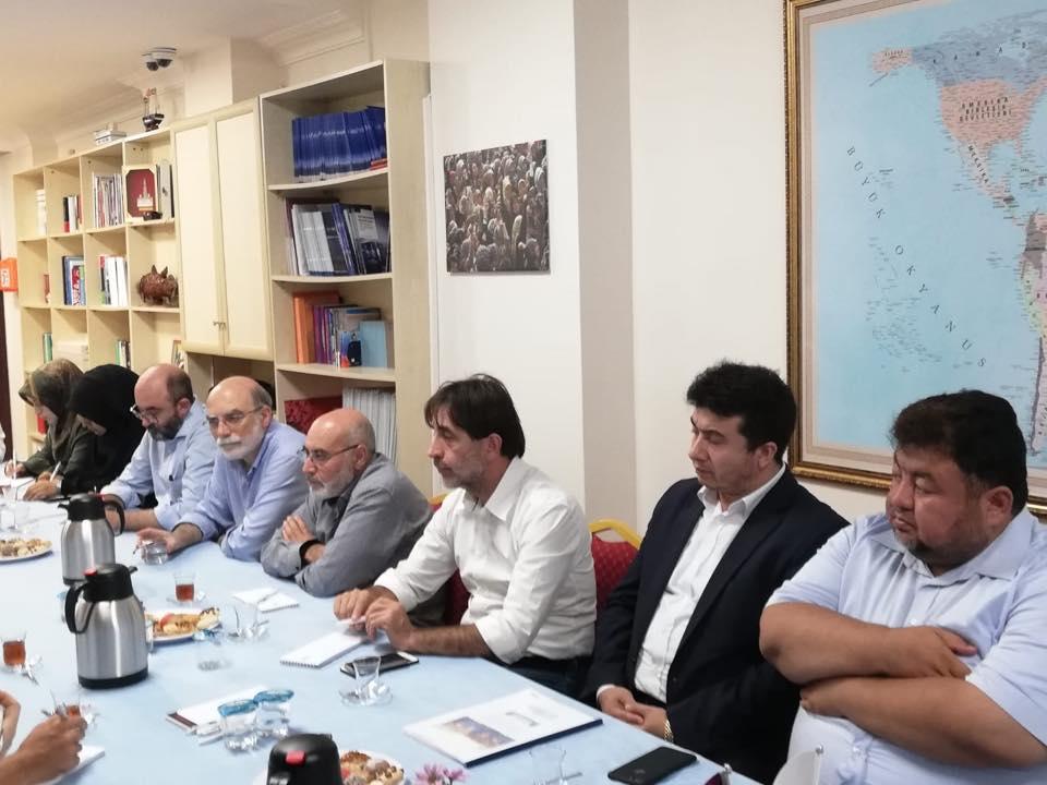 42332425_715083555525950_4442449570932195328_n Genel Başkanımız Hidayet Oğuzhan İstişare toplantıda Doğu Türkistan meselesini anlattı