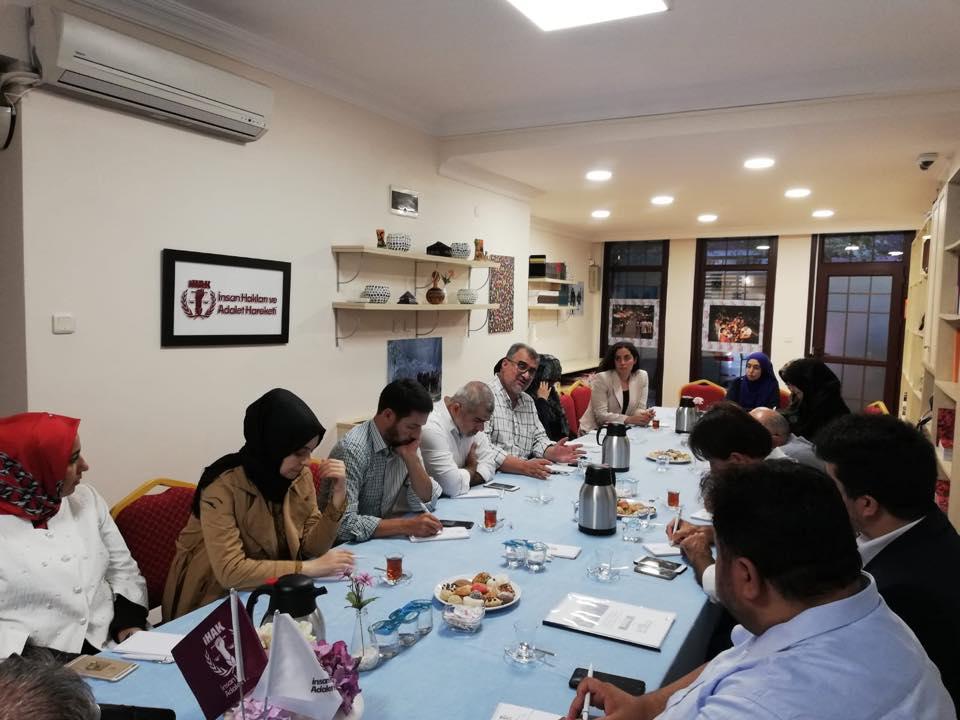 42358770_715083698859269_2420888960982056960_n Genel Başkanımız Hidayet Oğuzhan İstişare toplantıda Doğu Türkistan meselesini anlattı