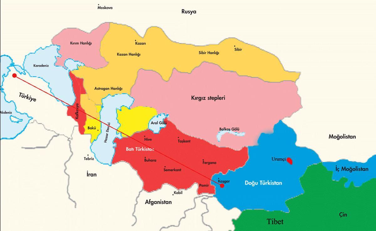 7e98447a-2444-4c1c-859f-add27cd7fe5a Doğu Türkistan Coğrafyası ve önemi