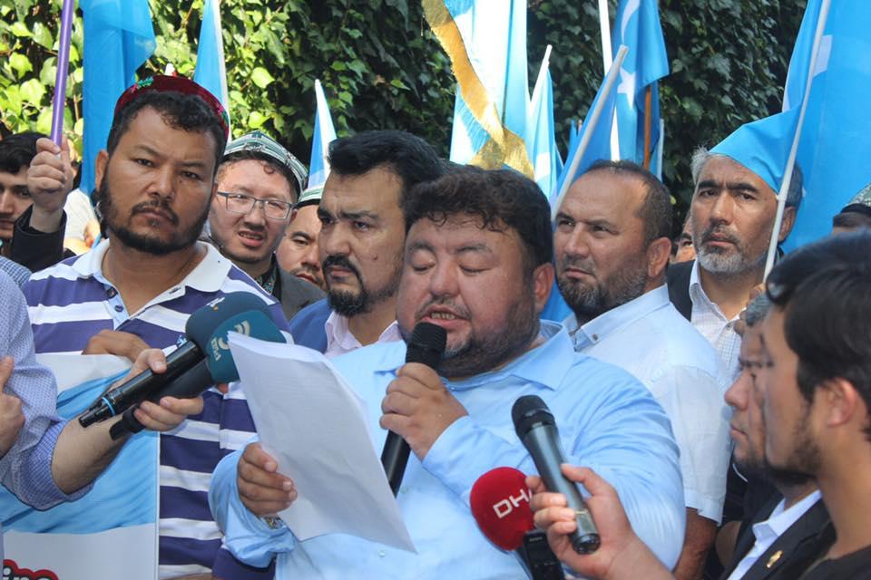 IMG_0005-1 Çin İşgalinin 69.yıl dönemi dolaysıyla Çin konsolosluğu önünde protesto yapıldı