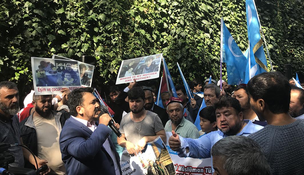 IMG_0021-1 Çin İşgalinin 69.yıl dönemi dolaysıyla Çin konsolosluğu önünde protesto yapıldı