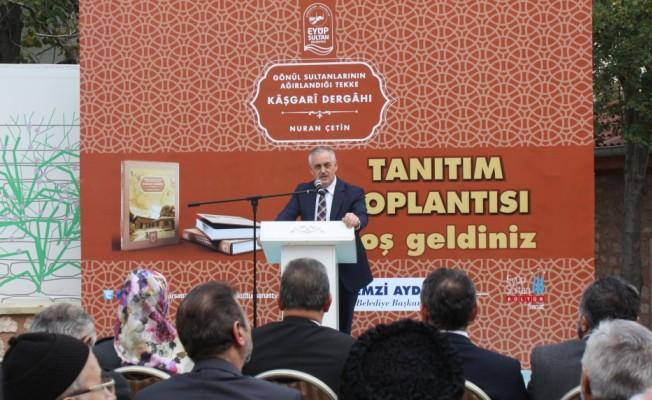 """gonul_sultanlarinin_agirlandigi_tekke_kasgari_dergahi_tanitim_toplantisi_h240407 """"Gönül Sultanlarının Ağırlandığı Tekke Kaşgari Dergahı"""" tanıtım toplantısı"""