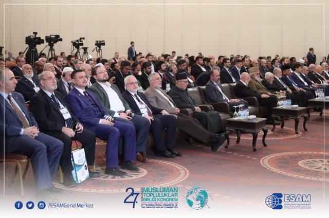 47256591_2270567649680304_5038685881674760192_n-640x424 Uluslararası Müslüman Topluluklar Birliği Kongresinin sonuç bildirisinde Doğu Türkistan