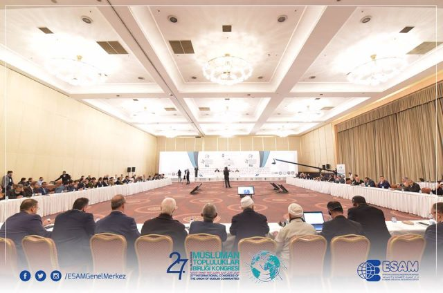 47395182_2271001902970212_2415201148676866048_n-640x424 Uluslararası Müslüman Topluluklar Birliği Kongresinin sonuç bildirisinde Doğu Türkistan