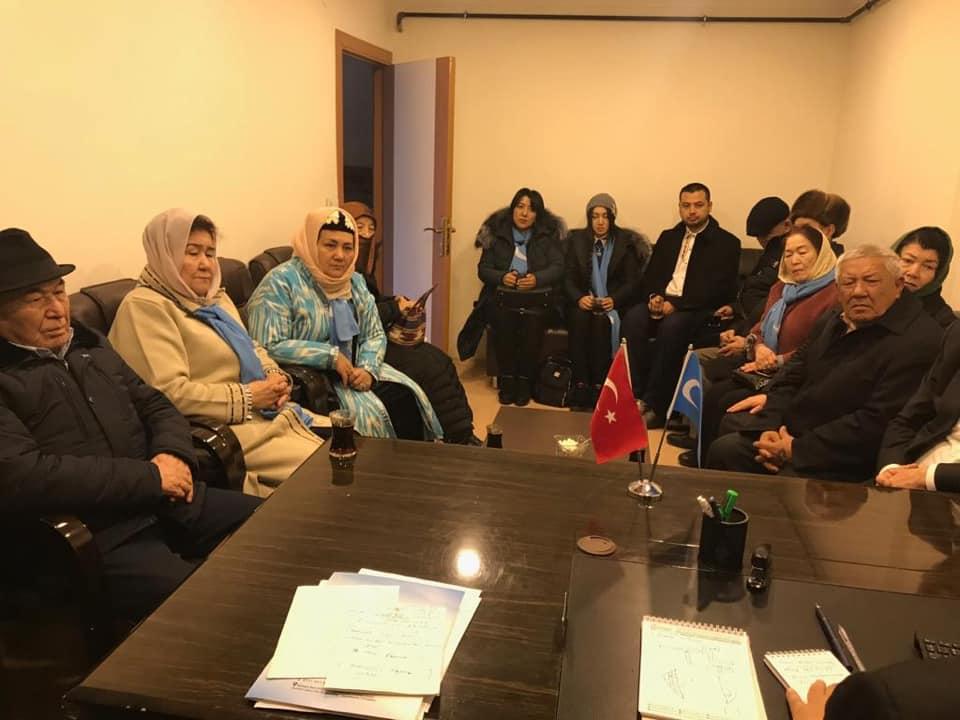 48413701_765837070450598_6148098104852742144_n Kırgızistan Uygur İttifak Cemiyeti Heyeti Doğu Türkistan Maarif Cemiyetine ziyarete geldi