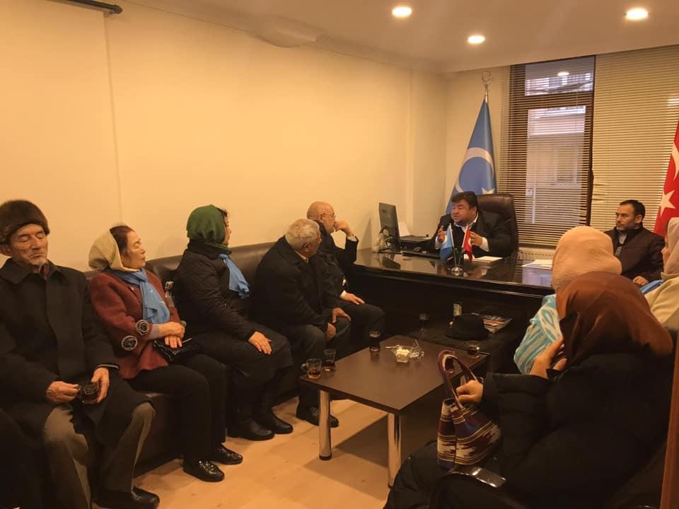 48416607_765837110450594_1033456843239718912_n Kırgızistan Uygur İttifak Cemiyeti Heyeti Doğu Türkistan Maarif Cemiyetine ziyarete geldi