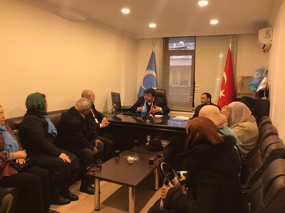 48429927_765837013783937_8503320447557828608_n Kırgızistan Uygur İttifak Cemiyeti Heyeti Doğu Türkistan Maarif Cemiyetine ziyarete geldi