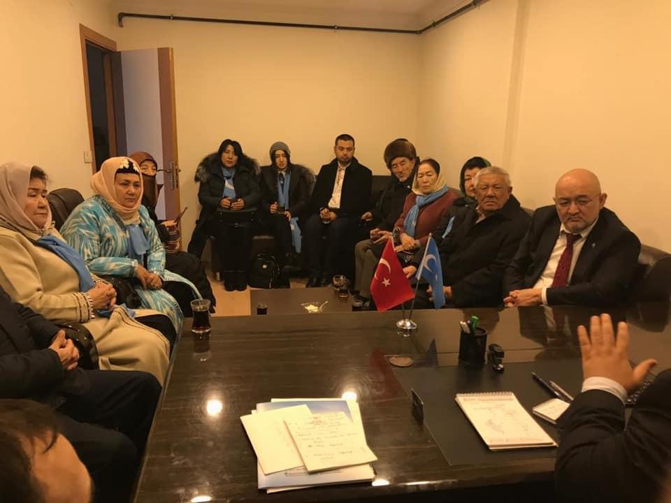48958828_765837020450603_7174362849261649920_n Kırgızistan Uygur İttifak Cemiyeti Heyeti Doğu Türkistan Maarif Cemiyetine ziyarete geldi
