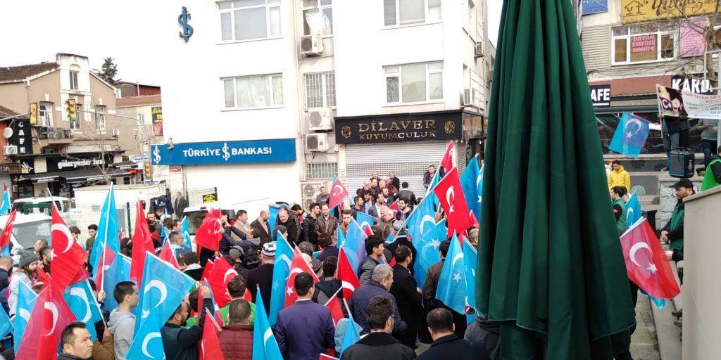 2-1024x512 Çin Devleti'nin asimilasyon politikalarına maruz kalan Doğu Türkistan için Beykoz halkı öfkülendi