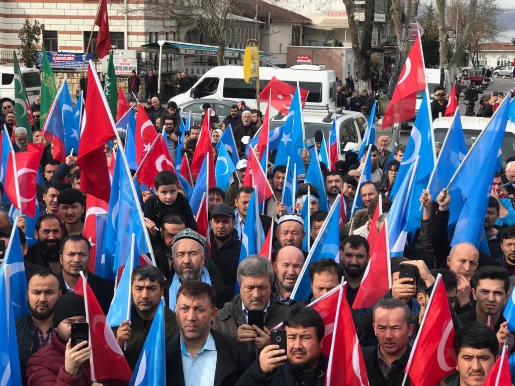 4-1024x768 Çin Devleti'nin asimilasyon politikalarına maruz kalan Doğu Türkistan için Beykoz halkı öfkülendi