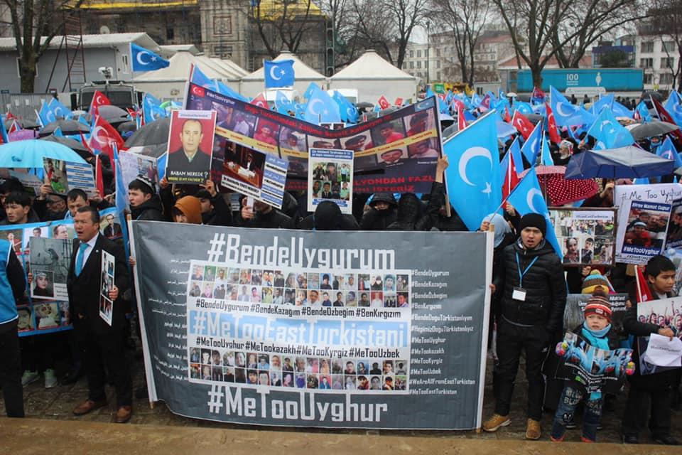 52694995_2127682167266792_1707025680824270848_n Çin'in Doğu Türkistan'daki Zulmü İstanbul'da Protesto Edildi