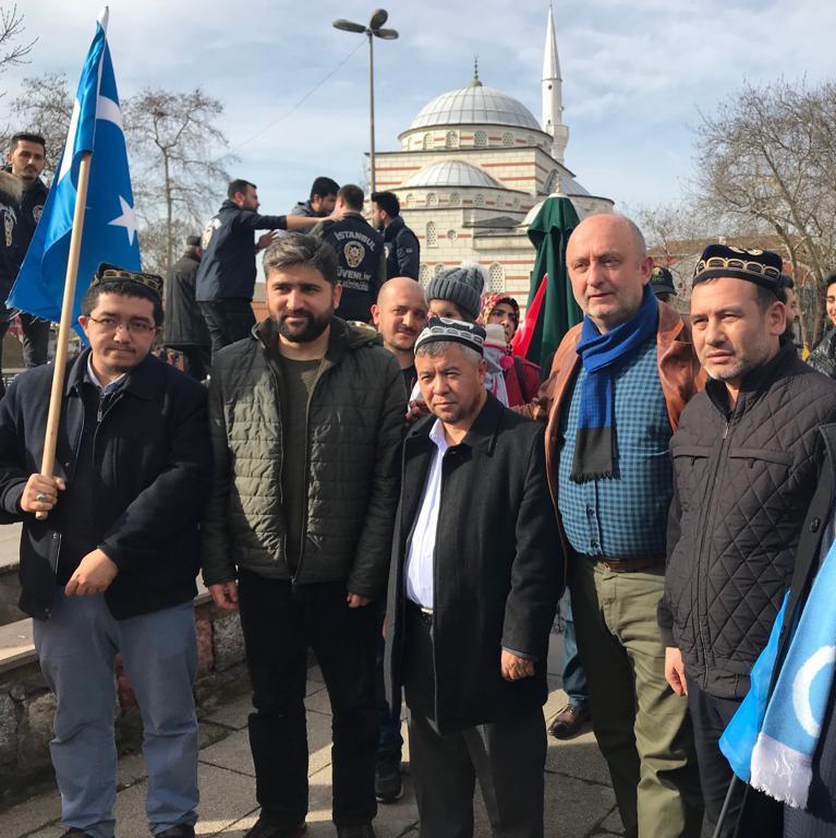 9 Çin Devleti'nin asimilasyon politikalarına maruz kalan Doğu Türkistan için Beykoz halkı öfkülendi