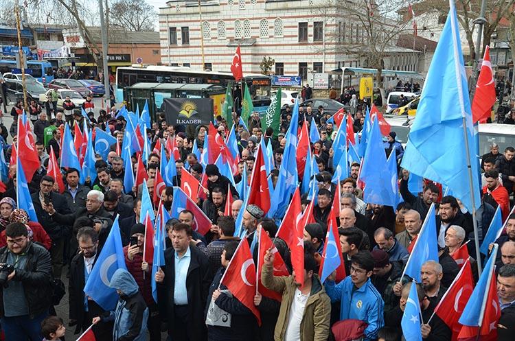 galeri_cin_zulmu_beykoz_-14_pske1QatdS Çin Devleti'nin asimilasyon politikalarına maruz kalan Doğu Türkistan için Beykoz halkı öfkülendi