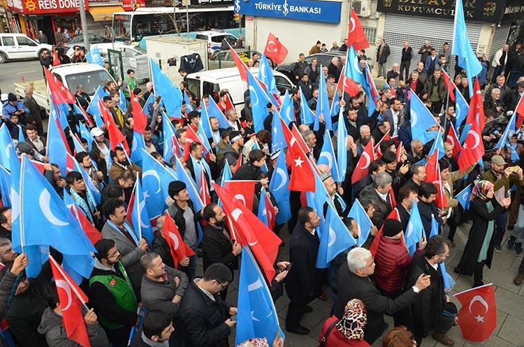 galeri_cin_zulmu_beykoz_-3_pJjPiVKl5J Çin Devleti'nin asimilasyon politikalarına maruz kalan Doğu Türkistan için Beykoz halkı öfkülendi