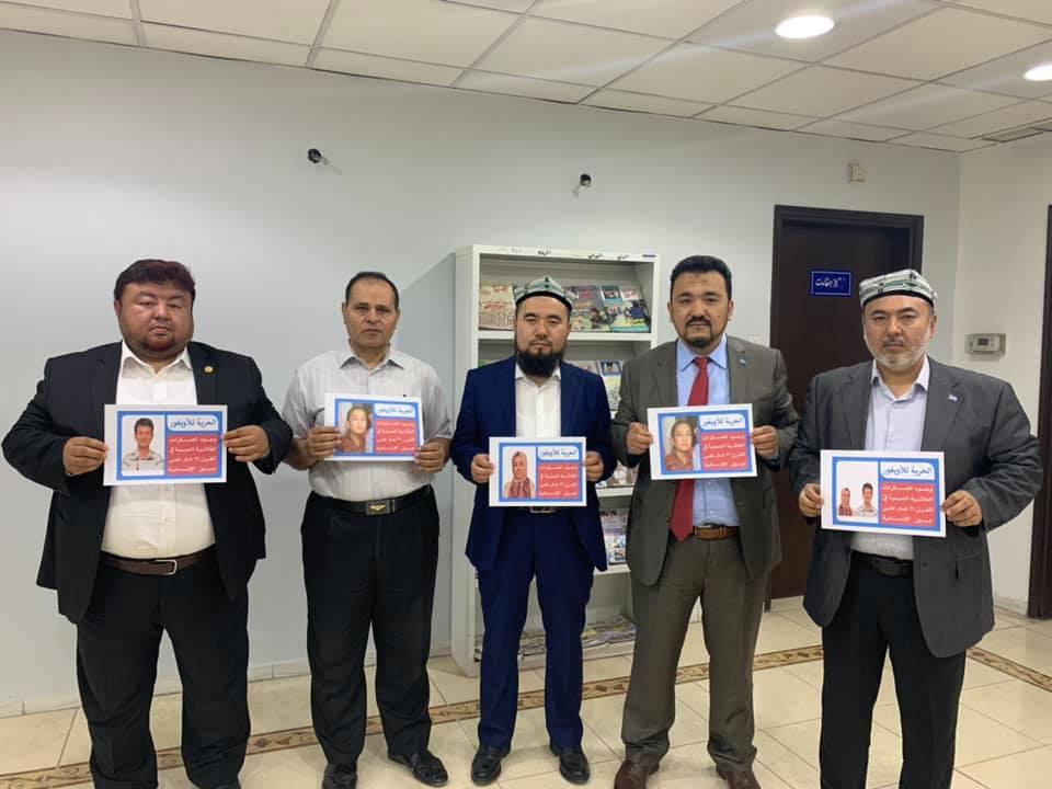 56525020_832702533764051_5211968772478337024_n Doğu Türkistan Heyeti Kuveyt'te Al-Mujtama Dergisi yayın merkezi ziyaret etti