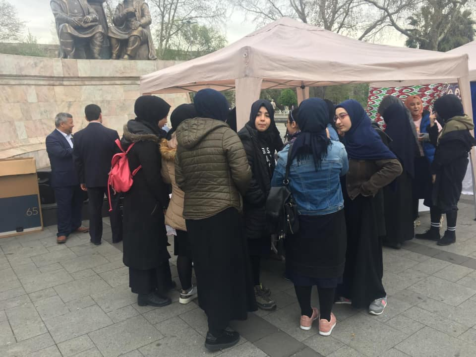 56547293_832809787086659_4468128055113547776_n Doğu Türkistan Tanıtım ve kültürel sergi faaliyetleri  Başarıyla sona erdi