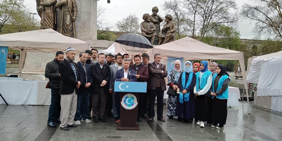56593697_832809917086646_9177763328166985728_n Doğu Türkistan Tanıtım ve kültürel sergi faaliyetleri  Başarıyla sona erdi