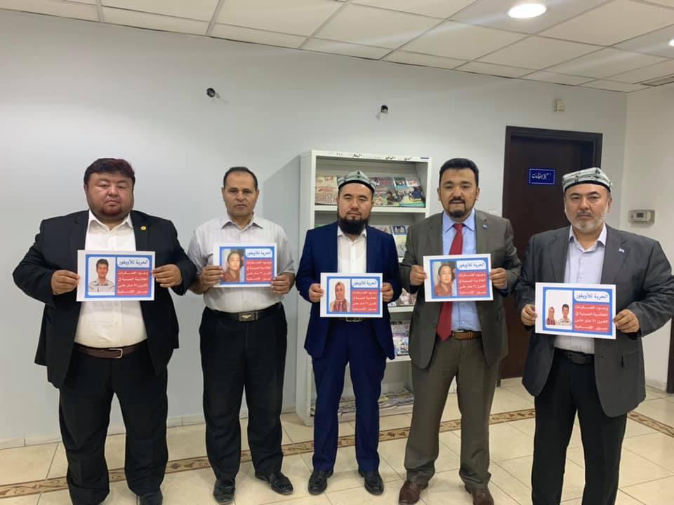 56595512_832702423764062_6022508373444919296_n Doğu Türkistan Heyeti Kuveyt'te Al-Mujtama Dergisi yayın merkezi ziyaret etti