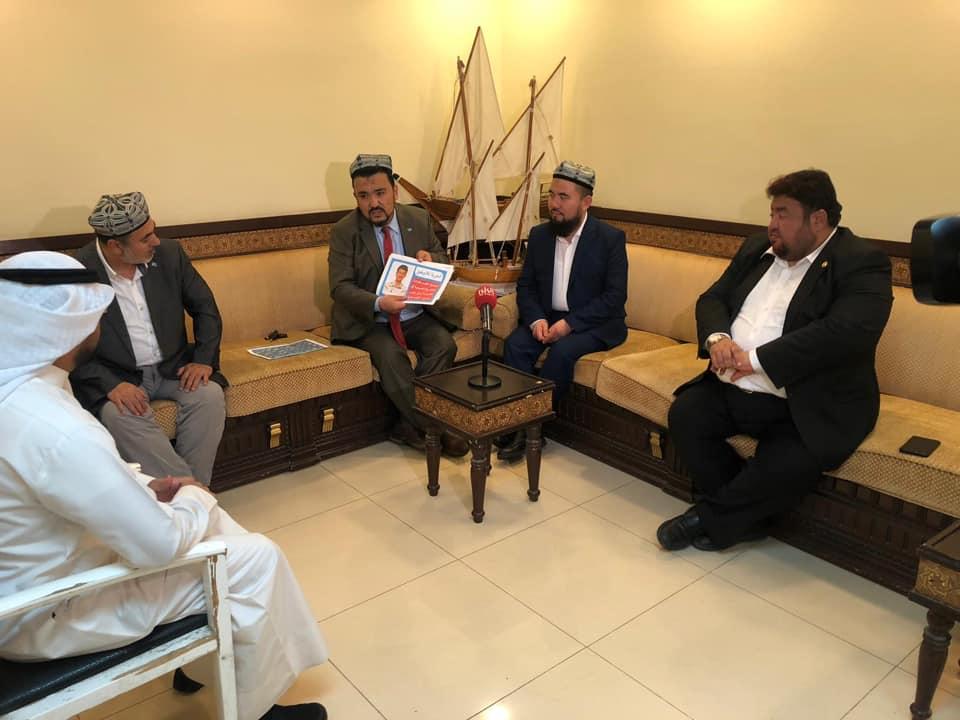56744656_833515437016094_1386734357355429888_n-1 Doğu Türkistan heyeti Kuveyt'in Al-Rai TV'sine  röportaj verdi