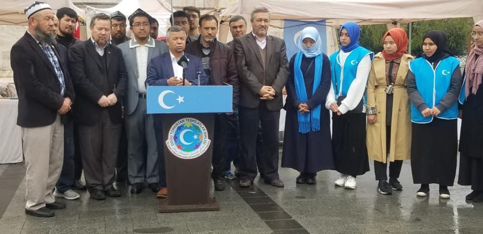 56757314_832809717086666_3043998744656740352_n Doğu Türkistan Tanıtım ve kültürel sergi faaliyetleri  Başarıyla sona erdi