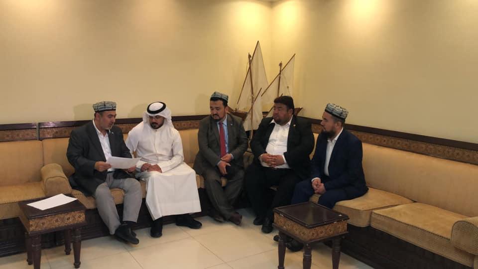 56839682_833515463682758_5984680010898735104_n Doğu Türkistan heyeti Kuveyt'in Al-Rai TV'sine  röportaj verdi