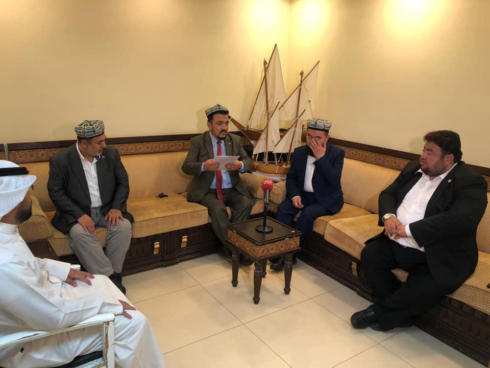56862361_833515410349430_7554172631222583296_n Doğu Türkistan heyeti Kuveyt'in Al-Rai TV'sine  röportaj verdi