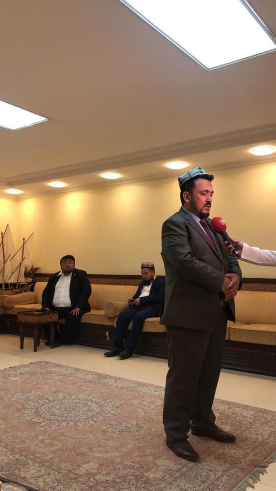 56874442_833515533682751_7031692234781097984_n Doğu Türkistan heyeti Kuveyt'in Al-Rai TV'sine  röportaj verdi