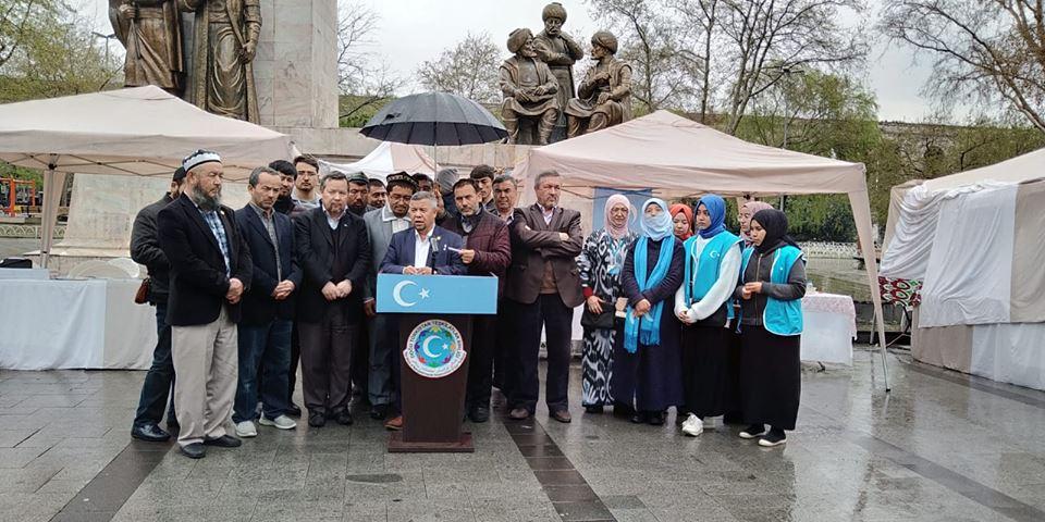56960588_2201096793535821_1707506502413058048_n Doğu Türkistan Tanıtım ve kültürel sergi faaliyetleri  Başarıyla sona erdi