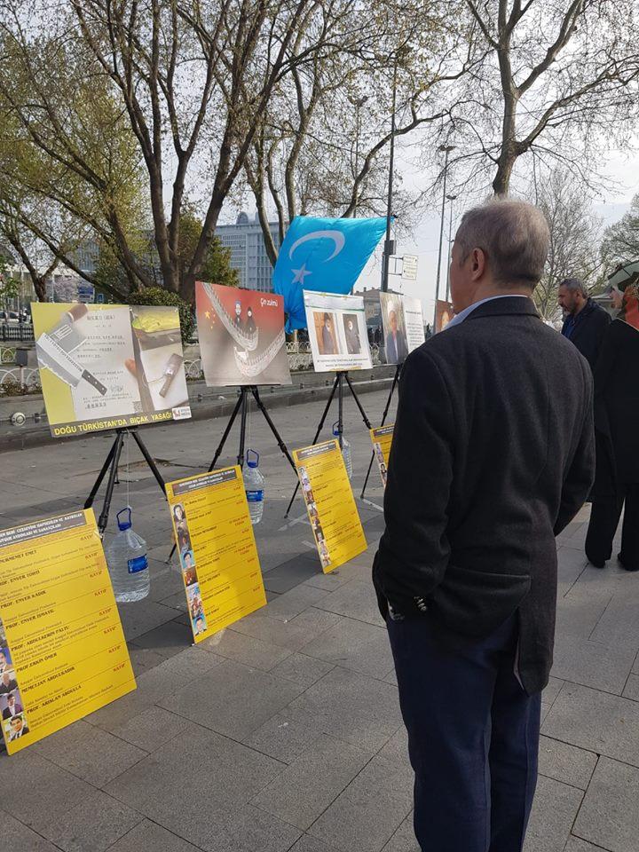 56962050_2201097206869113_7450944672811188224_n Doğu Türkistan Tanıtım ve kültürel sergi faaliyetleri  Başarıyla sona erdi