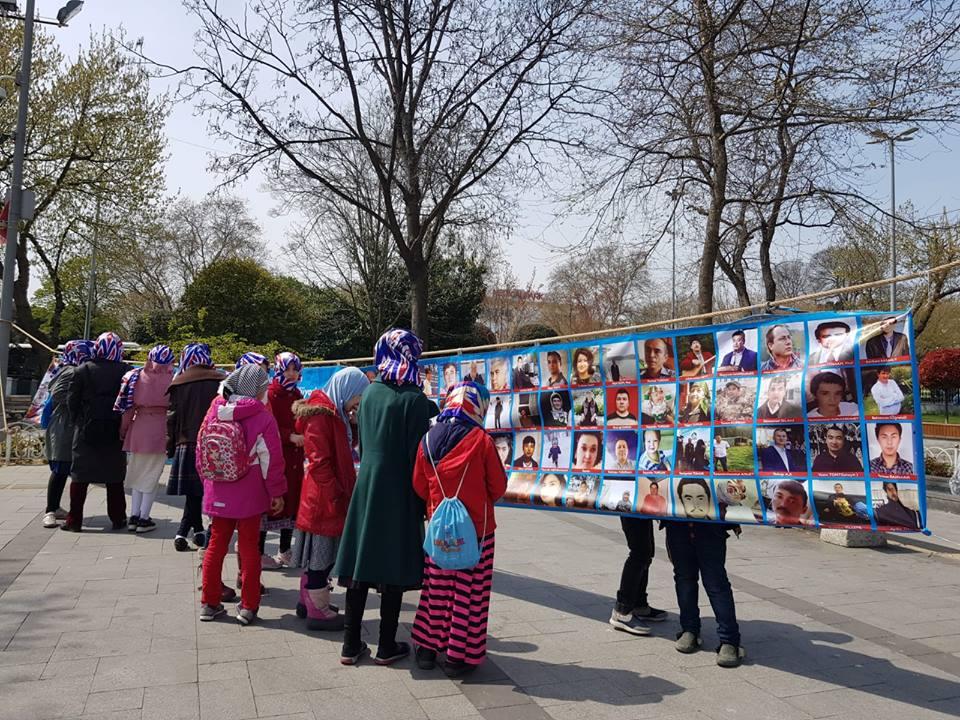 56994019_2201096990202468_6333986960893280256_n Doğu Türkistan Tanıtım ve kültürel sergi faaliyetleri  Başarıyla sona erdi