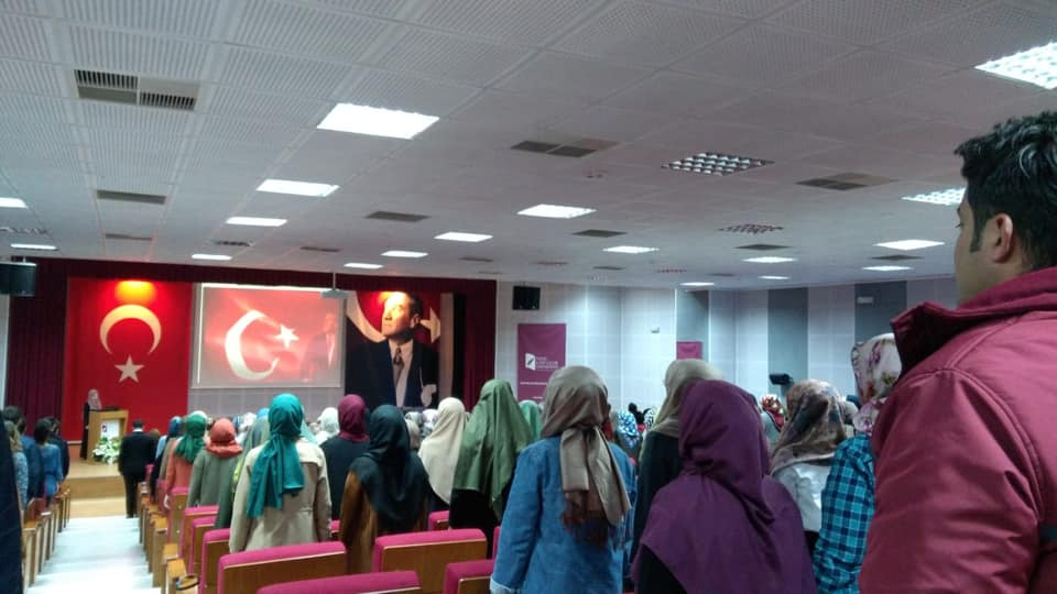 57284415_10218297377124498_1575342786687795200_n İzmir'de Kanayan yaramız Doğu Türkistan konulu Konferans düzenlendi