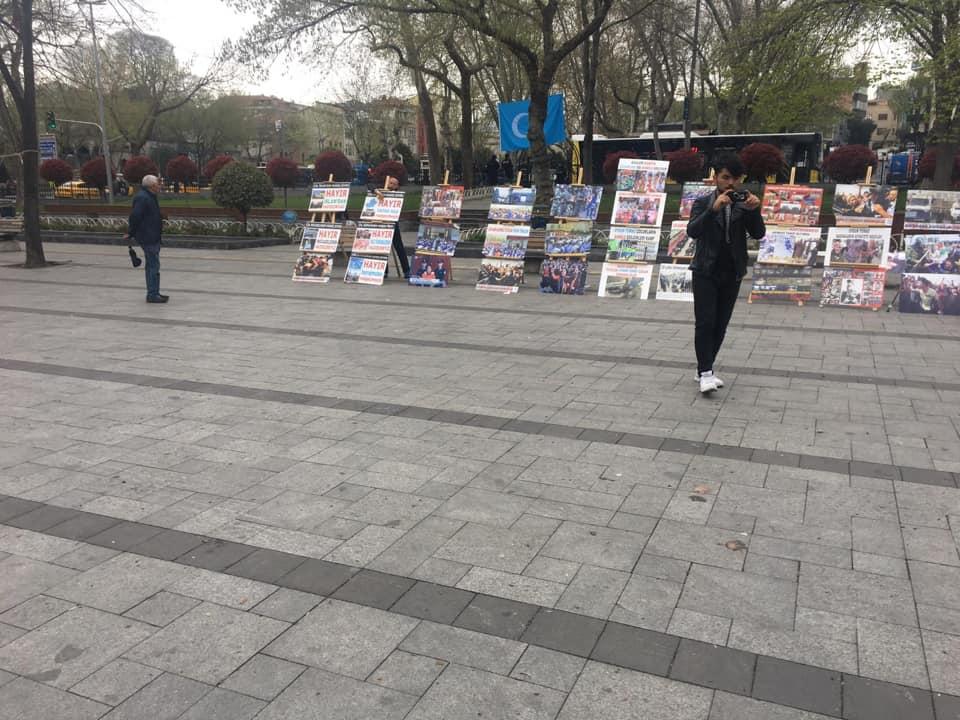 57331414_832810057086632_8732625504495992832_n Doğu Türkistan Tanıtım ve kültürel sergi faaliyetleri  Başarıyla sona erdi