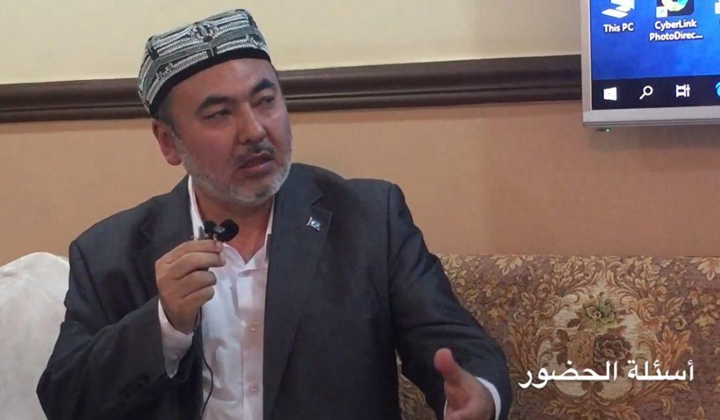 Sirajidin-azizi-kuwettiki-yighinda-sozde1-8-april-1024x598 Kuveyt'te Doğu Türkistan davası anlatıldı