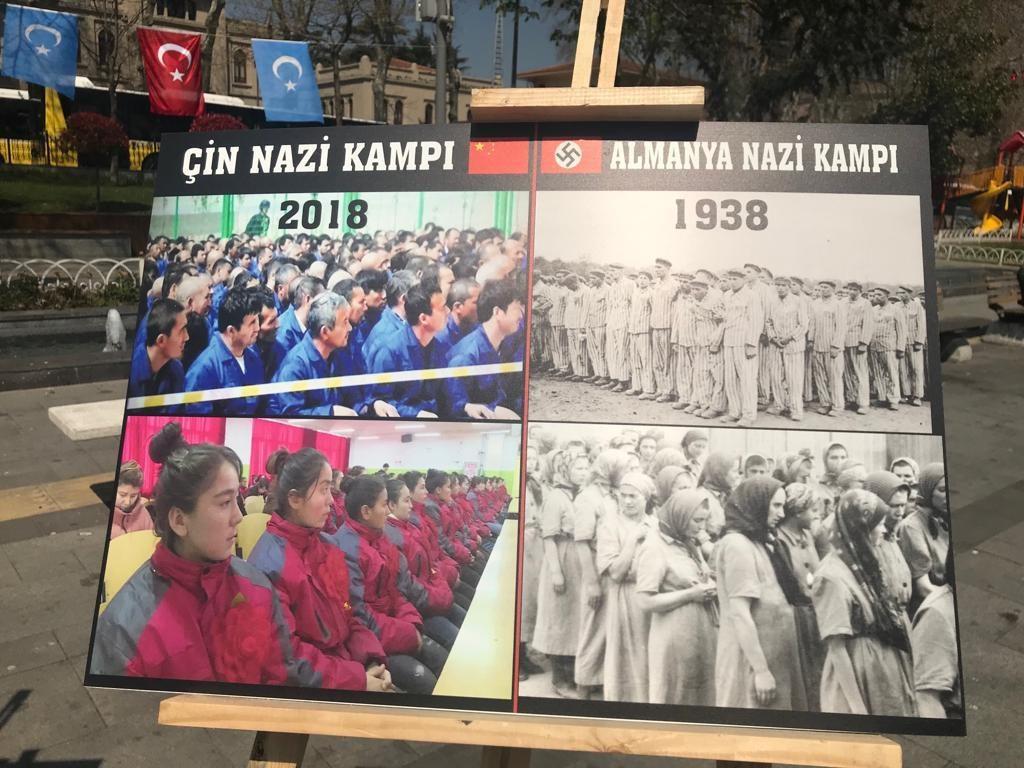 """Uyghur-medeniyet-ve-zulum-korgezmisi-013-1024x768 """"Doğu Türkistan Kültür ve Tanıtım Haftası"""" etkinliği gerçekleşti"""