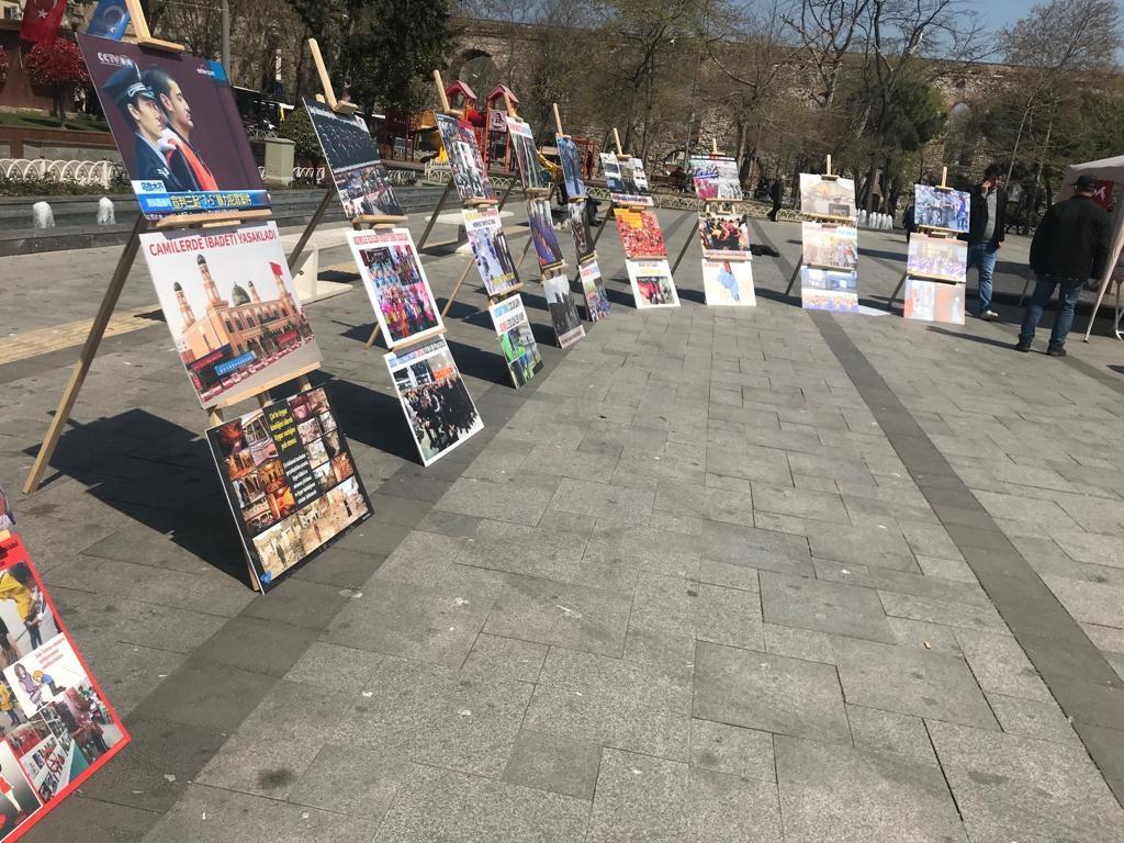 """Uyghur-medeniyet-ve-zulum-korgezmisi-014-1024x768 """"Doğu Türkistan Kültür ve Tanıtım Haftası"""" etkinliği gerçekleşti"""