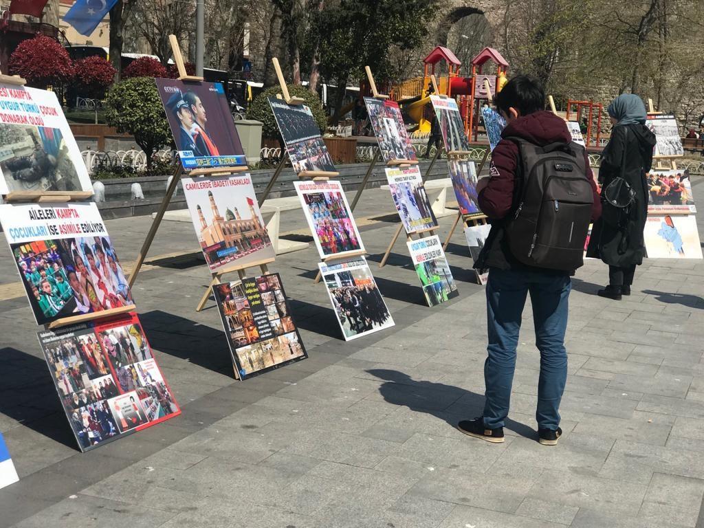 """Uyghur-medeniyet-ve-zulum-korgezmisi-015-1024x768 """"Doğu Türkistan Kültür ve Tanıtım Haftası"""" etkinliği gerçekleşti"""
