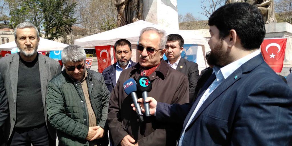 """Uyghur-medeniyet-ve-zulum-korgezmisi-017-1024x512 """"Doğu Türkistan Kültür ve Tanıtım Haftası"""" etkinliği gerçekleşti"""