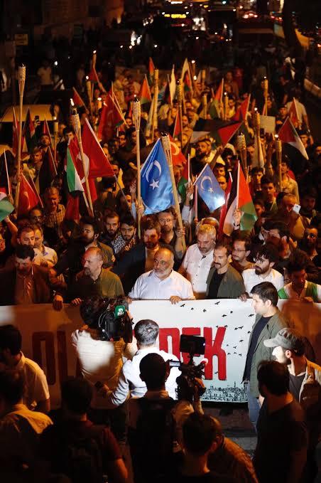 DAD4D248-6737-4477-B25B-15AE0800D068 Bülent Yıldırım: Doğu Türkistanlı kardeşlerimiz, şu anda dünyada en mazlum milleti