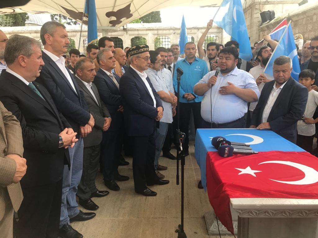 WhatsApp-Image-2019-06-21-at-15.15.54-4-1024x768 Doğu Türkistanlı yazar için gıyabi cenaze namazı kılındı